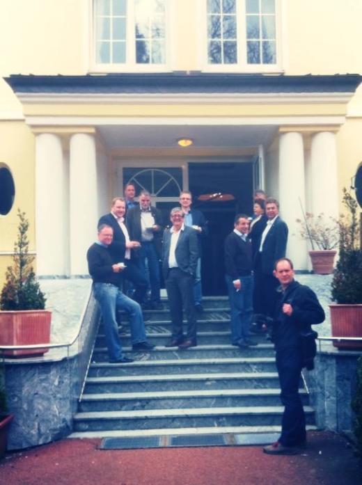 Gemeinsam mit Ministerpräsident Stephan Weil und weiteren Landtagsabgeordneten auf der Klausurtagung der Landtagsfraktion 2013.