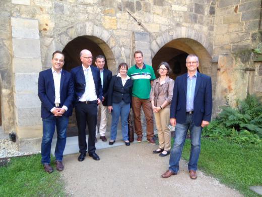 Im Rahmen der Haushaltsklausur des SPD-Arbeitskreises Haushalt und Finanzen im September 2015 haben wir den Hildesheimer Dom besichtigt.