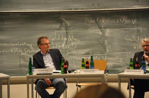 Podiumsdiskussion der Universität Osnabrück