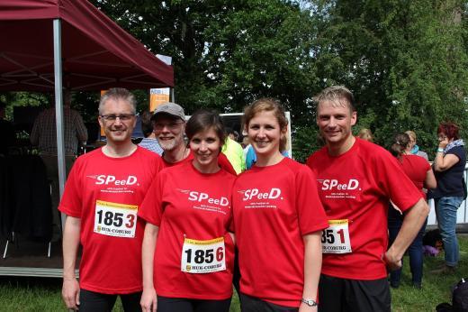 Das Foto der SPD-Landtagsfraktion zeigt von links nach rechts: MdL Frank Henning, Christoph Matterne, Jana Melching, Sarah Maier und MdL Stefan Klein.