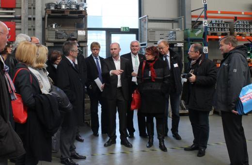 In der Produktionshalle der Firma Kotte Landtechnik in Rieste.