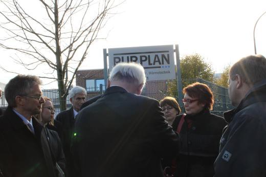 Im Gespräch mit dem Geschäftsführer der Firma PURPLAN, Andreas Sandmann.