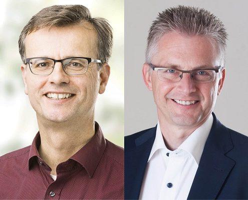 Volker Bajus (Grüne) und Frank Henning (SPD)