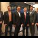 V.l.n.r.: Gerd Will (verkehrspol. Sprecher der SPD-Landtagsfraktion), Matthias Wübbel (SPD-Landtagskandidat für Bersenbrück), Klaus Hellmann (Gesellschafter der Hellmann-Gruppe), Frank Henning (MdL), Minister Olaf Lies und Guido Pott (SPD-Landtagskandidat für Bramsche).