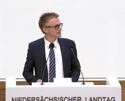 Symbolbild Plenarrede - Screenshot: NDR