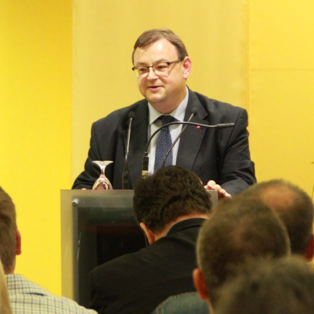 Begrüßte die Anwesenden im Namen des Personalrats: Frank Lewek, Sparkasse Osnabrück