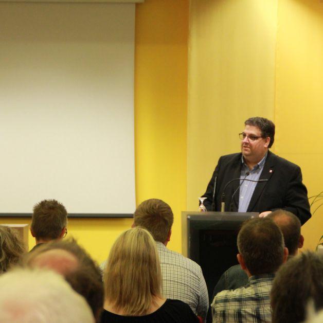 Stephan Soldanski, Vorsitzender der Arbeitsgemeinschaft für Arbeitnehmerfragen in der SPD (AfA), Region Osnabrück