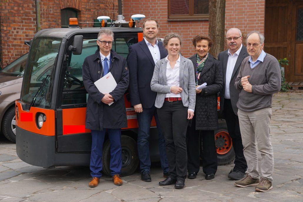Mit dem SPD-Arbeitskreis Wirtschaft zu Gast bei der Firma Götting KG in Lehrte.