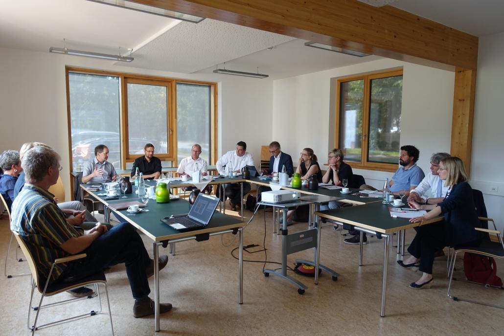 Besuch des NZNB im Rahmen der Klausur des SPD-Arbeitskreises Haushalt.