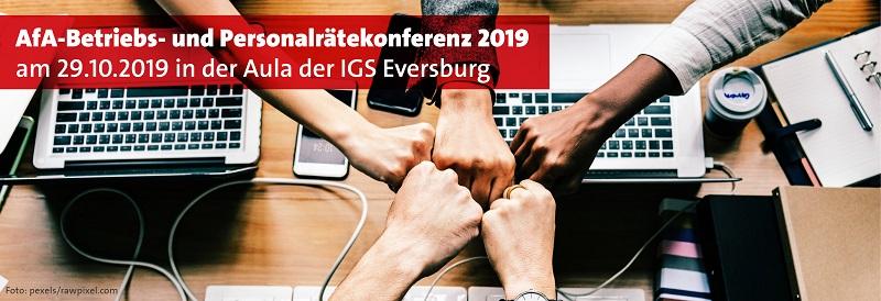 Betriebs- und Personalräte-Konferenz 2019