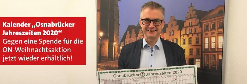 Kalender Osnabrücker Jahreszeiten wieder erhältlich