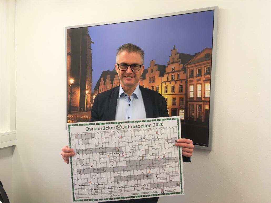 """Der Jahresplaner """"Osnabrücker Jahreszeiten"""" für das Jahr 2020"""
