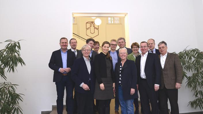 Treffen der örtlichen Landtagsabgeordneten mit dem Präsidium der Universität Osnabrück. (Bildrechte: Universität Osnabrück)