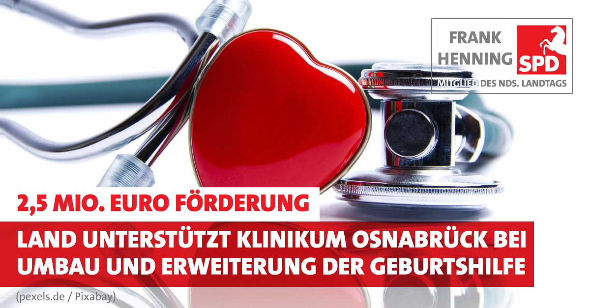Förderung für das Klinikum Osnabrück