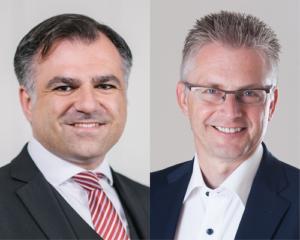 Dr. Christos Pantazis und Frank Henning