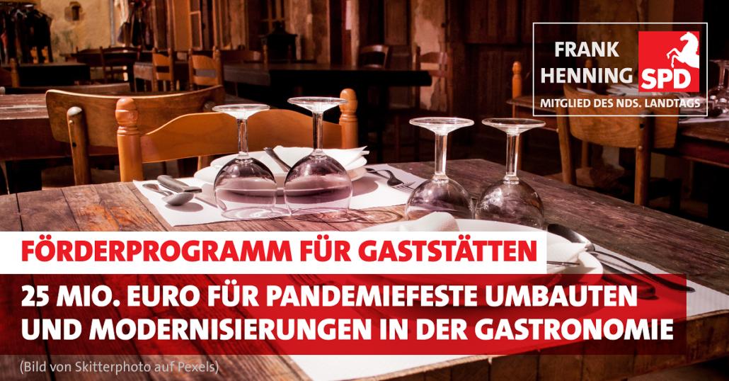 Förderprogramm Gaststätten